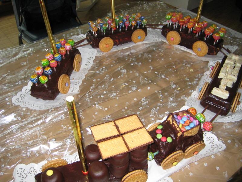 Eisenbahn Kuchen