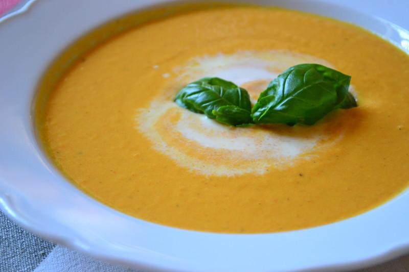 Karotten-Orangensuppe mit Ingwer