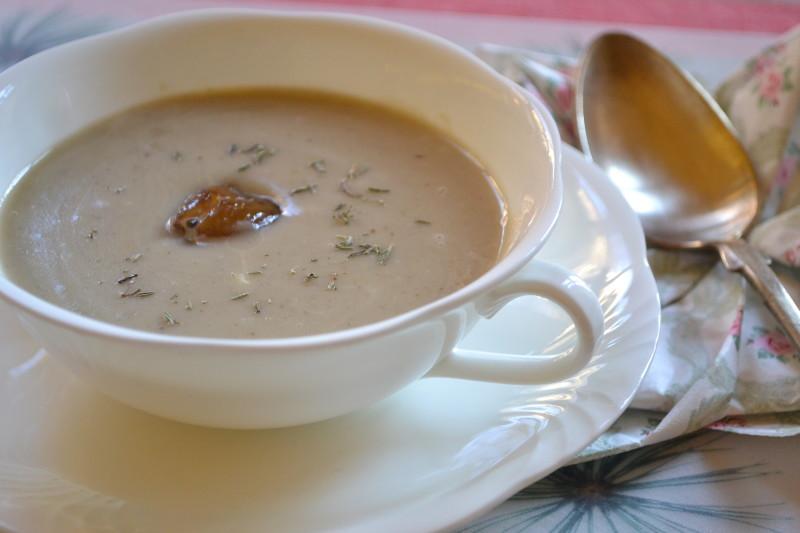 Kartoffel Marini Kastanien Suppe