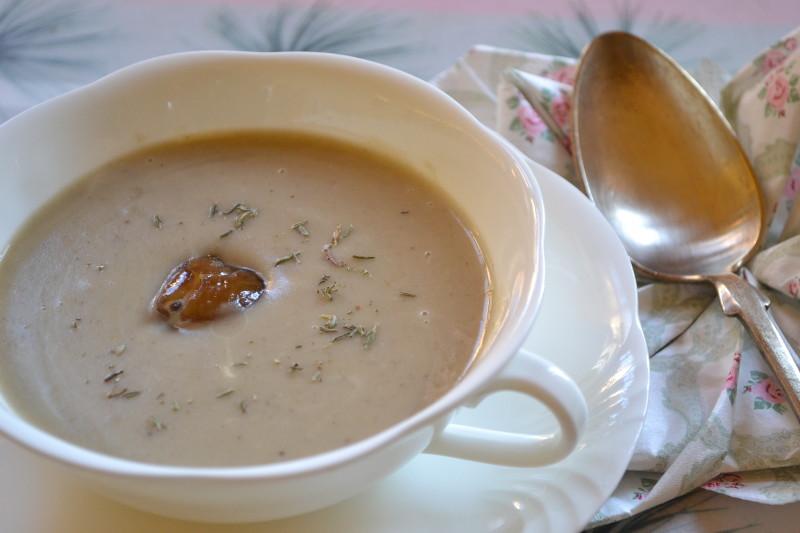 Kartoffel Maroni Suppe