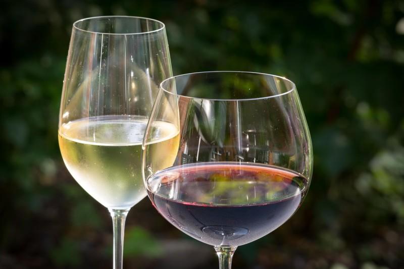 Rotwein Weisswein