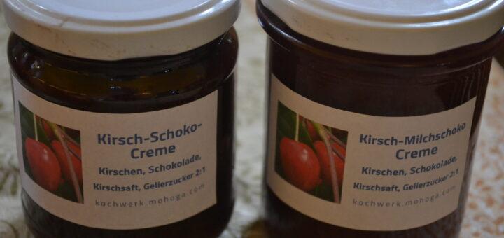 Schoko-Kirsch-Creme